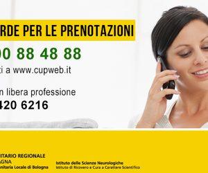 Cambiano gli orari del Call center CUP per le prenotazioni su Bologna e provincia