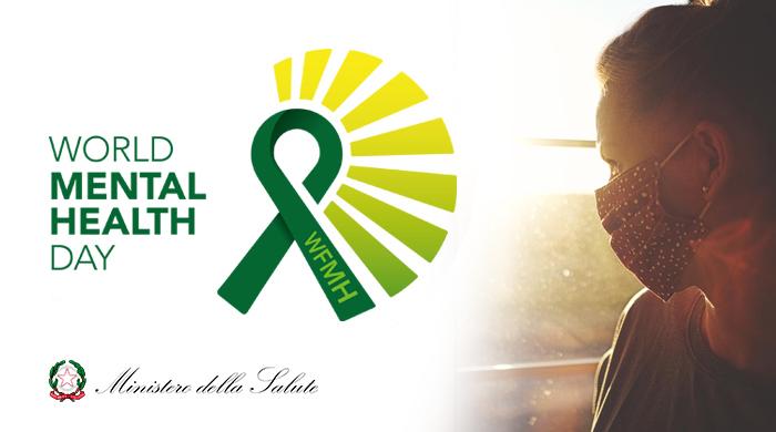 """Giornata mondiale della salute Mentale"""" promossa dall'OMS e dalla Federazione mondiale per la salute mentale."""